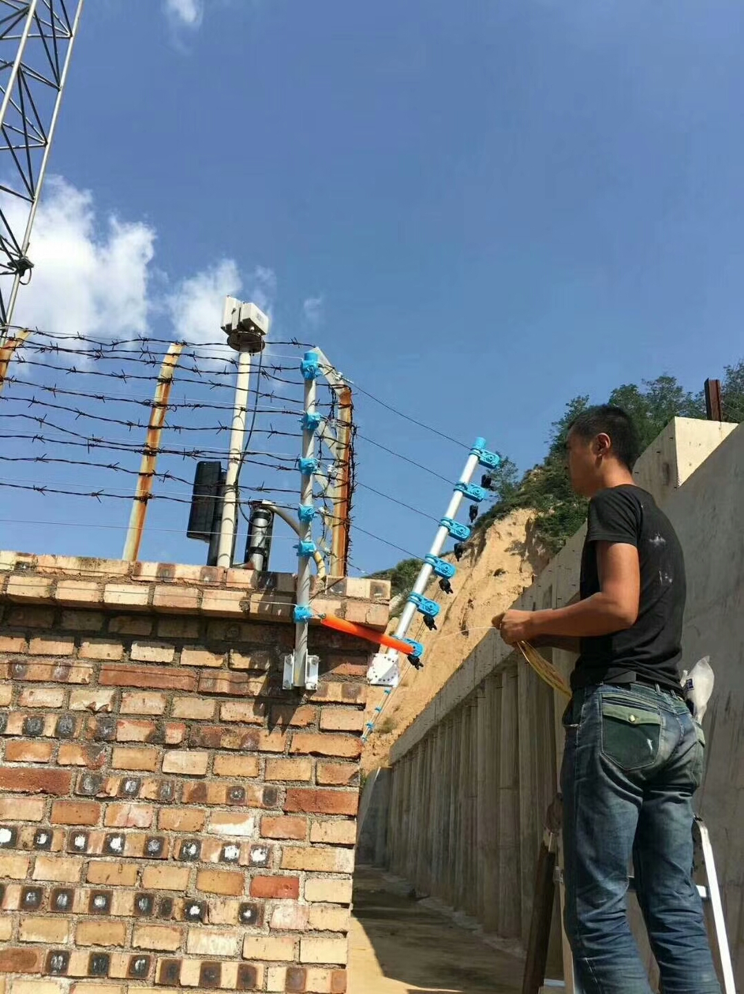 athenalarm electric security fence projects 7