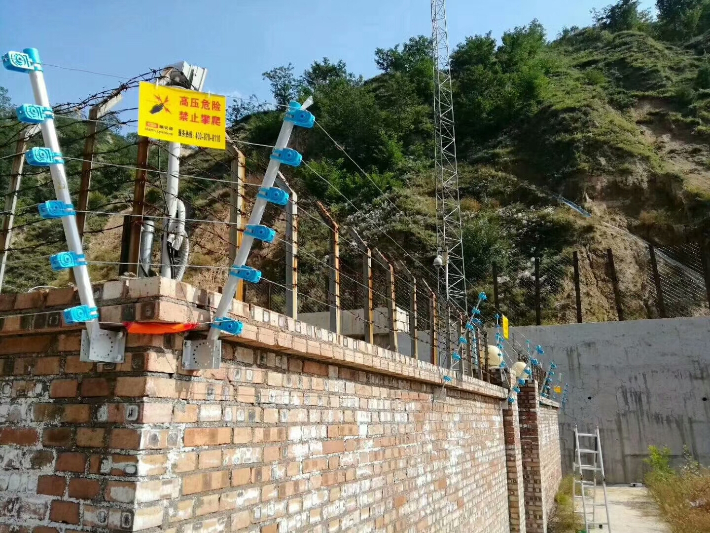 athenalarm electric security fence projects 8