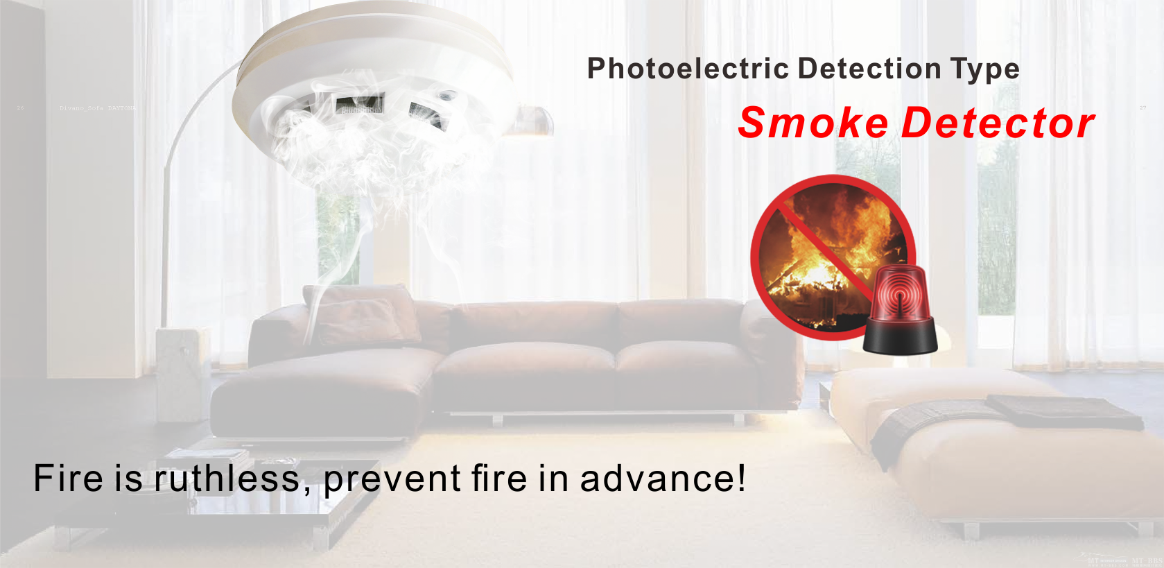AS-603PC Photoelectric Smoke Detector 1