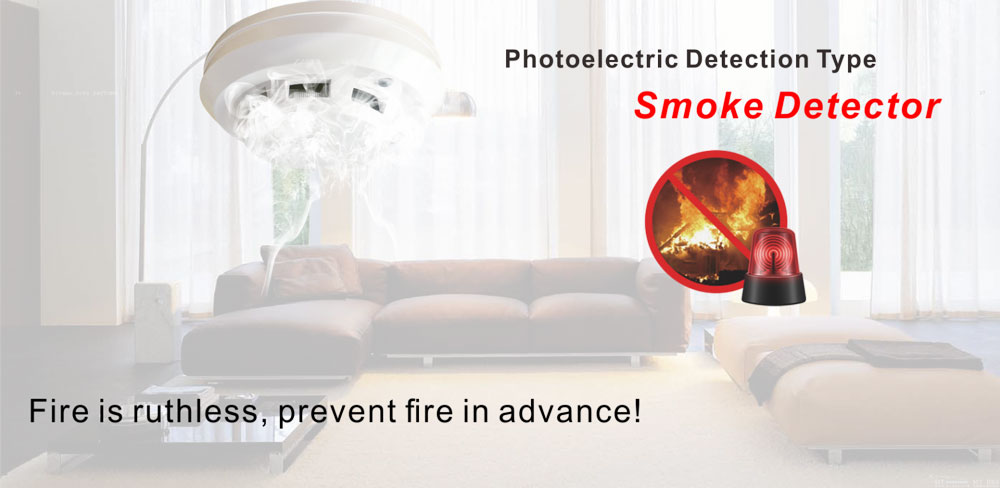 Photoelectric Smoke Detector 1